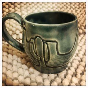 Jade Green Ceramic Mug NWOT